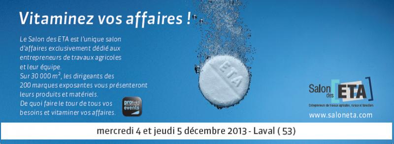 March des agro quipements for Salon des eta